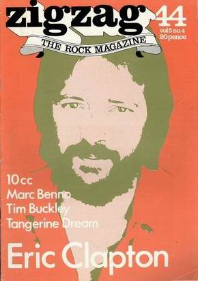 Eric Clapton/ 10cc/ Marc Benno/ Tim Buckley/ Tangerine Dream
