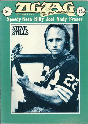 Steve Stills/ Speedy Keen/ Billy Joel/ Andy Frazer