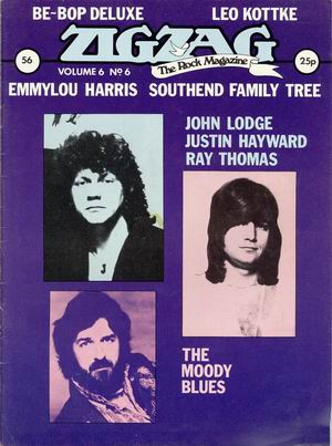 Moody blues/ Be-bop Deluxe/ Leo Kottke/ Emmylou Harris/ Southend family tree