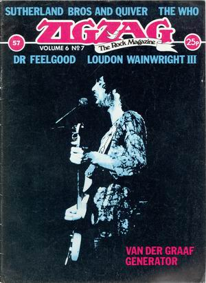 Van der Graaf/ Sutherland bros./ Who/ Dr.Feelgood/ Loudon Wainwright III